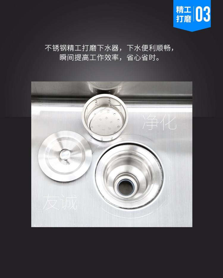 单人304不锈钢洁净洗手池感应洗手池食品厂电子厂洁净车间实验室